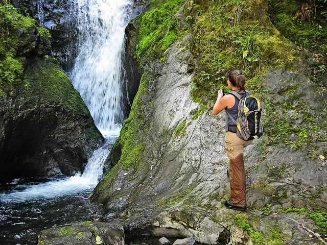 Pennoyer Creek Falls